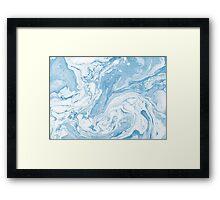 Shades of Blue #6 Framed Print