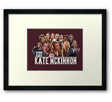 Kate Mckinnon Framed Print