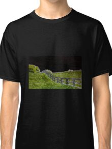 Neon Fence Classic T-Shirt