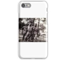 Vietnam memorial iPhone Case/Skin
