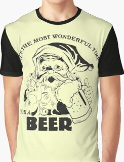 The Most Wonderful Time for a Beer Graphic T-Shirt