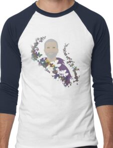 Sheogorath~Butterflies Men's Baseball ¾ T-Shirt