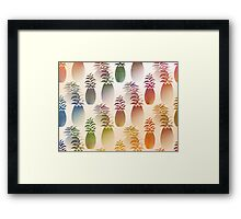 Pineapple Abstract Framed Print