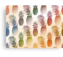 Pineapple Abstract Canvas Print