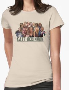 Kate Mckinnon Womens Fitted T-Shirt