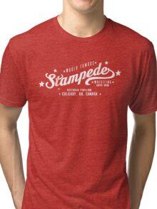 Stampede Wrestling Tri-blend T-Shirt