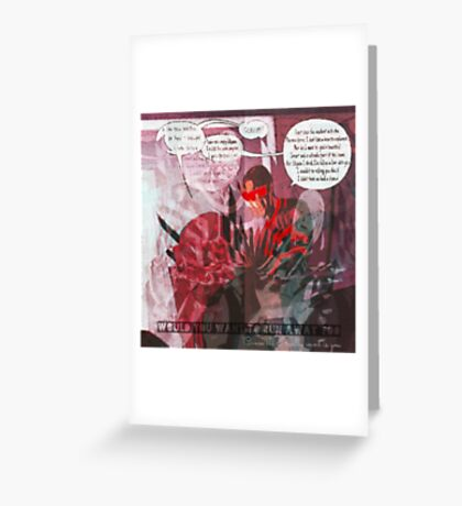 She Looks So Perfect, Mutant Style Greeting Card
