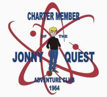 Jonny Quest Adventure Club 1964 Kids Tee