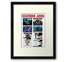 The Scatman John Collection Framed Print