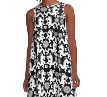 CHINESE DRAGONS A-Line Dress