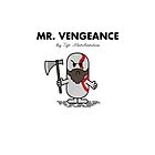 MR. VENGEANCE by THAT GAME  REFERENCING MERCHANDISE