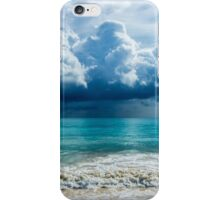 Storm Clouds Over Waimanalo iPhone Case/Skin