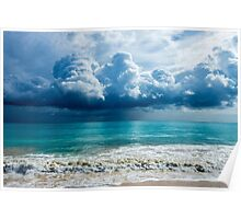 Storm Clouds Over Waimanalo Poster
