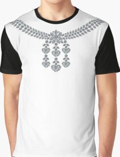 Six Hearts Necklace Graphic T-Shirt