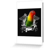 angry bird Greeting Card