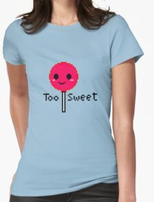 Too sweet pixel  Womens Fitted T-Shirt