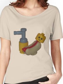 The Cute Baby Hotdog! Women's Relaxed Fit T-Shirt