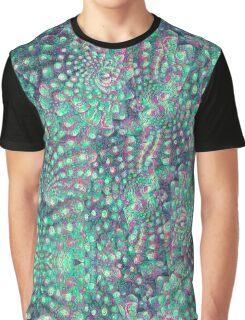 Romanescu Pattern Graphic T-Shirt
