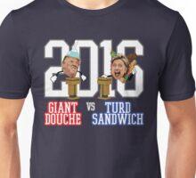 Giant Douche (Trump) VS Turd Sandwich (Clinton) 2016 (SOUTH PARK) Unisex T-Shirt