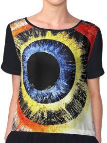 The Eye Chiffon Top