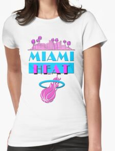 Heat Vice Sky High on Light Womens Fitted T-Shirt