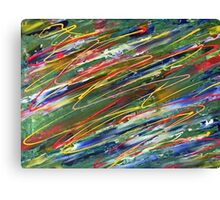 Organised Chaos abstract  Canvas Print