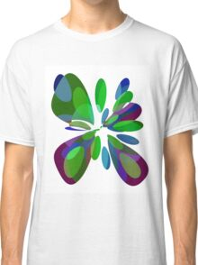Colorful abstract flower Classic T-Shirt