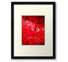 taste the blood Framed Print