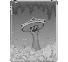 Hand Grabbing Crown iPad Case/Skin