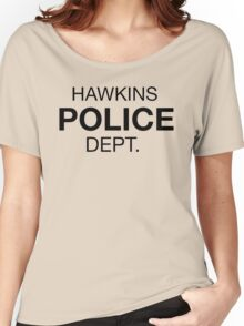 HAWKINS POLICE DEPT. Women's Relaxed Fit T-Shirt