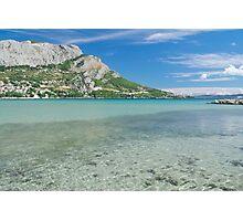 Omis Sea Bay, Croatia Photographic Print