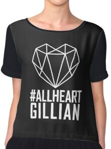 #AllHeartGillian - Wire on Black  Chiffon Top