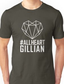 #AllHeartGillian - Wire on Black  Unisex T-Shirt