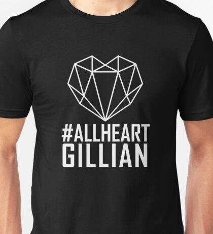 #AllHeartGillian - Wire on Black  Unisex T-Shirt