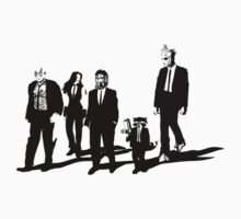 Reservoir A-Holes by Crocktees