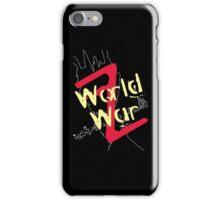 World War Z Alternative iPhone Case/Skin