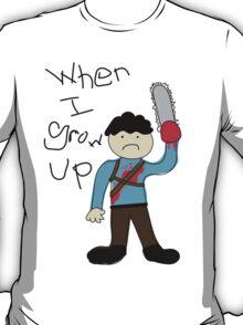 When I Grow Up Ash T-Shirt