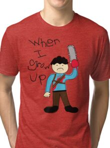 When I Grow Up Ash Tri-blend T-Shirt