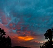 Warrandyte Sunset IV by Adam Le Good