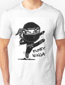 funky ninja Unisex T-Shirt