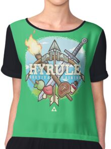 Hyrule Survival Training Chiffon Top