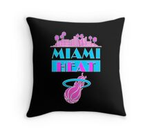 Heat Vice Sky High on Dark Throw Pillow
