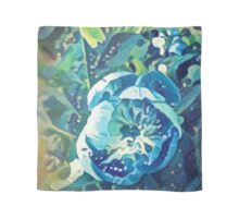 peony in blue Scarf