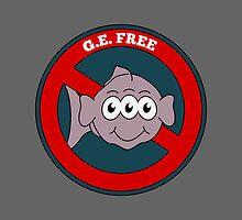 G.E. Free   Three eyed fish by piedaydesigns