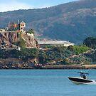 Speeding Past Alcatraz by David Denny