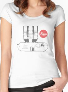Leica Absolute Women's Fitted Scoop T-Shirt