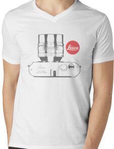 Leica Absolute Mens V-Neck T-Shirt