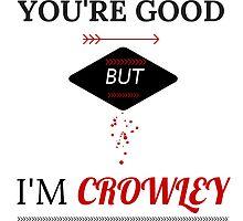 I'm Crowley by KellyKova