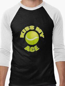 Kiss My Ace - Funny Tennis T Shirt Men's Baseball ¾ T-Shirt