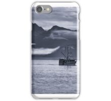 Southeast Alaska fishing vessel Antares iPhone Case/Skin